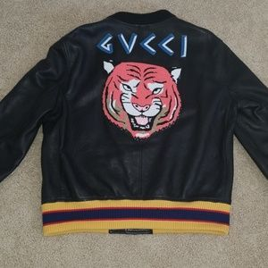 Authentic Gucci Leather Jacket
